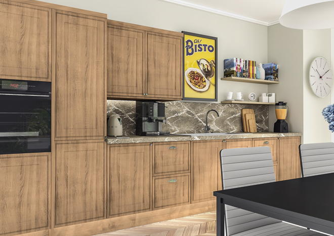 Tullymore Sonoma Natural Oak Kitchen Doors