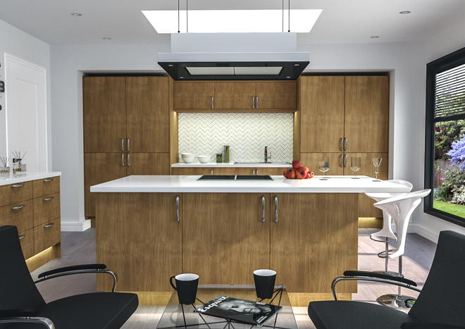 Venice Lissa Oak Kitchen Doors