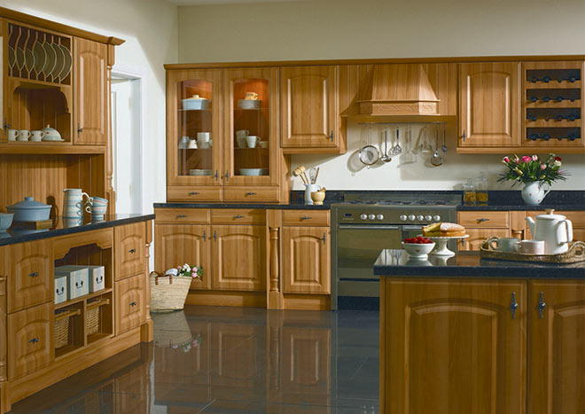 Verona Pippy Oak Kitchen Doors