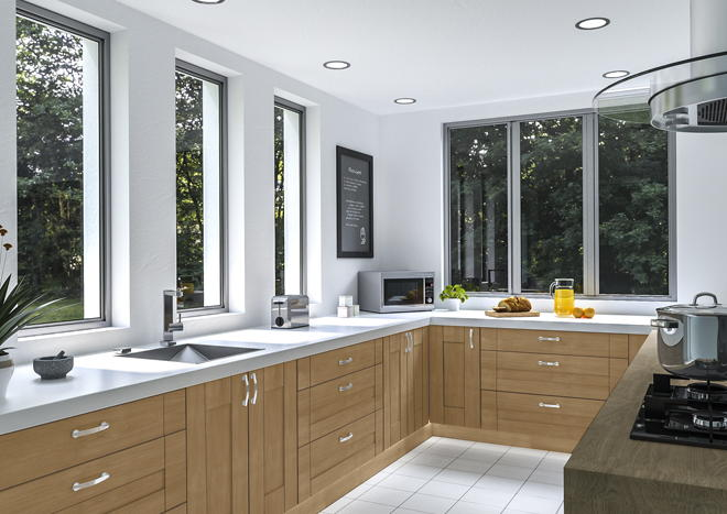 Warwick Lissa Oak Kitchen Doors