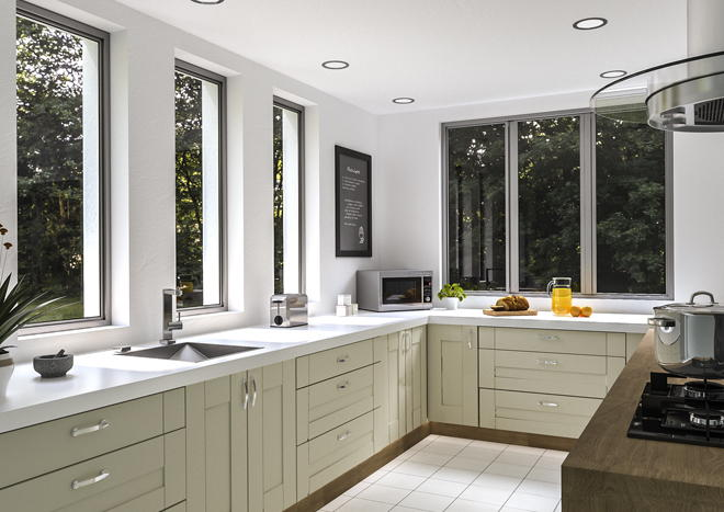 Warwick Vanilla Kitchen Doors