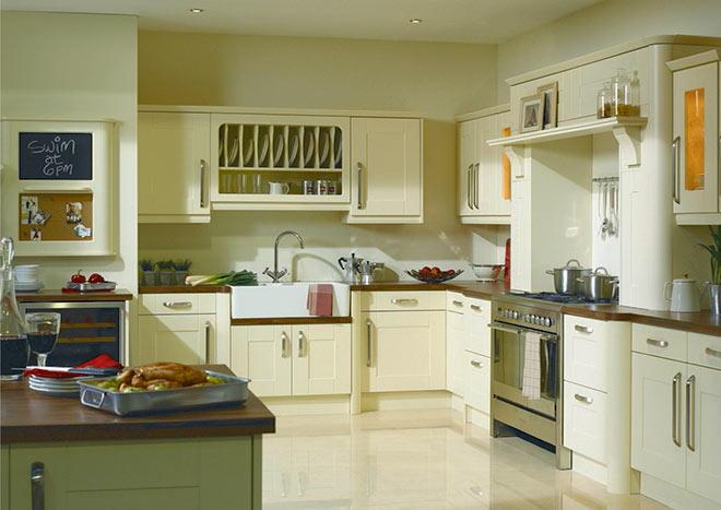 Warwick Vanilla Kitchen Doors