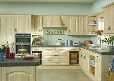 Canterbury Moldau Acacia Kitchen Doors