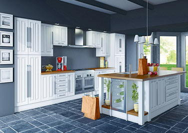 Milano Canadian Maple Kitchen Doors