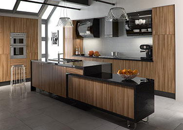 Pisa Oakgrain Cream Kitchen Doors