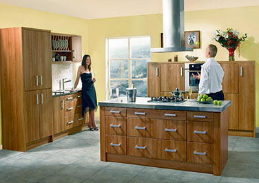 Rimini Matt Dove Grey Kitchen Doors