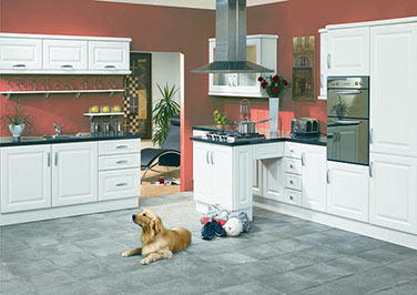 York Alabaster Kitchen Doors