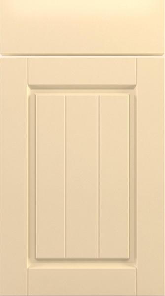 Ivory Shaker Style Kitchen Doors