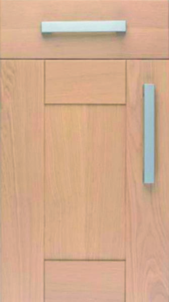 Sanded Oak Kitchen Doors
