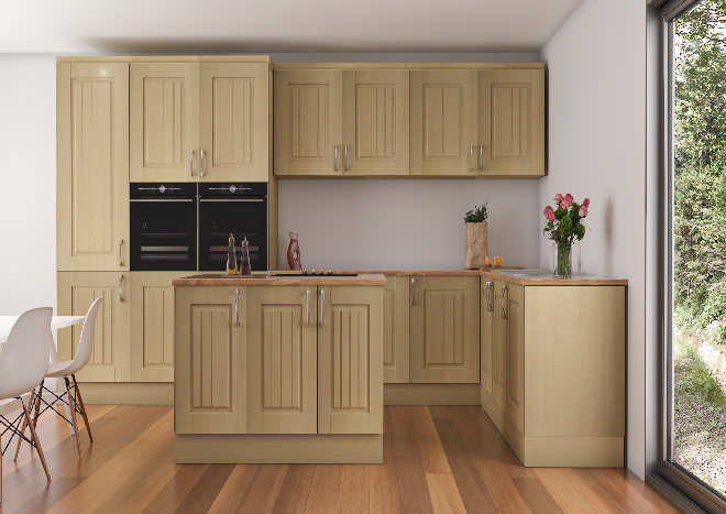 Avondale Beech Kitchen Doors