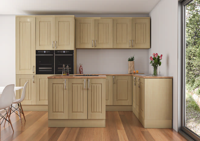 Avondale Canadian Maple Kitchen Doors