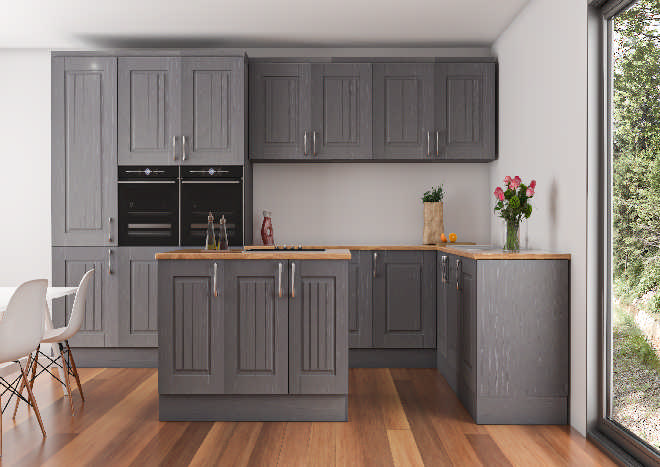 Avondale Dust Grey Ash Kitchen Doors Made To Measure From Pound 3 78