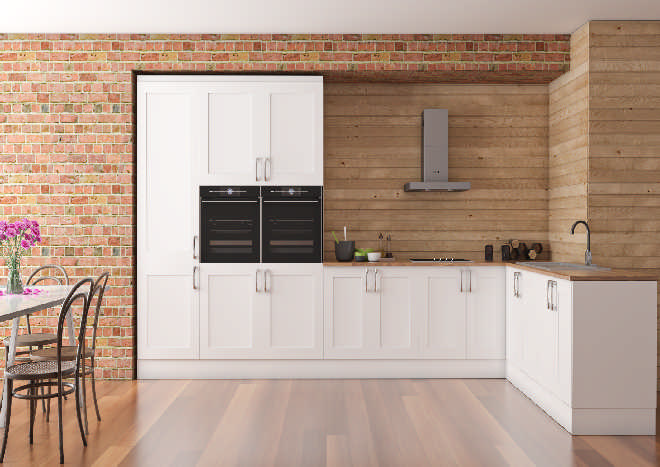 Berkeley Classic White Kitchen Doors