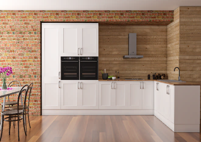 Berkeley Super Matt White Kitchen Doors