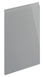 Lucente High Gloss Dust Grey Kitchen Doors