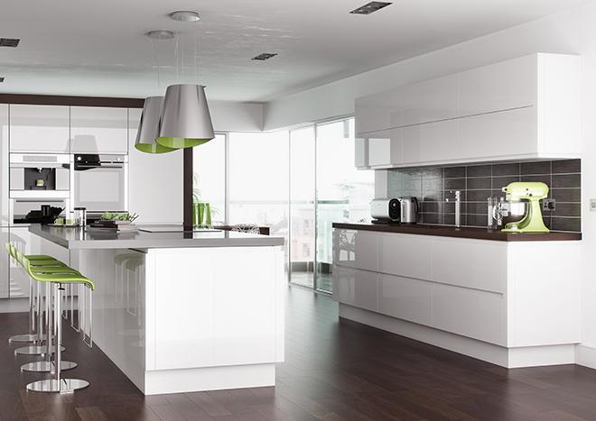 High Gloss White Kitchen Doors From £3.99