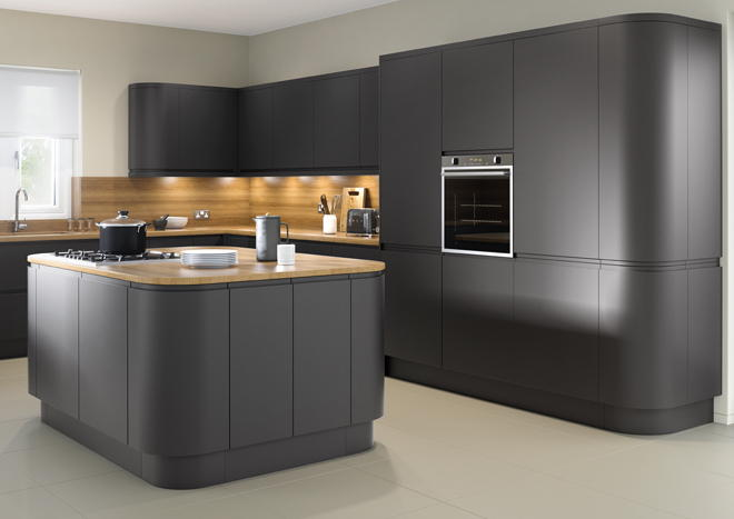 Matt Anthracite Kitchen Doors From 163 5 49