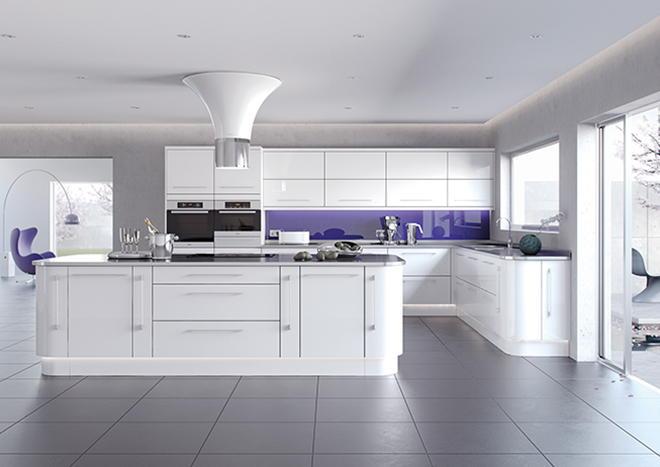 White Kitchen Doors beautiful white kitchen doors truro double arch door thumbnail