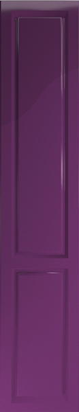 Buxted High Gloss Aubergine Bedroom Doors