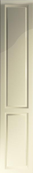 Buxted High Gloss Cream Bedroom Doors