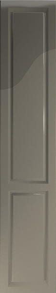 Buxted High Gloss Graphite Bedroom Doors