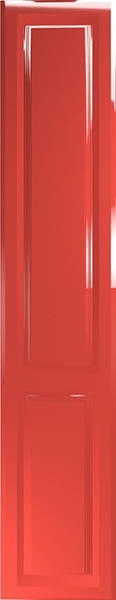 Fontwell High Gloss Red Bedroom Doors