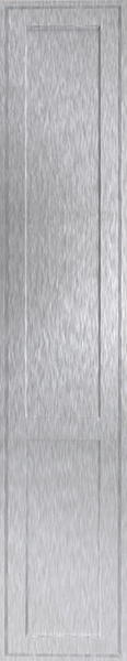 Singleton Brushed Steel Bedroom Doors