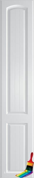 Wadhurst Paintable Vinyl Bedroom Doors