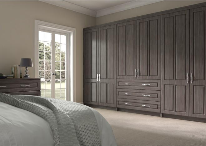 Amberley Avola Grey Bedroom Doors