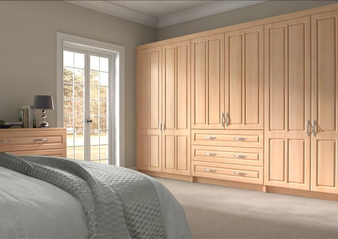 Amberley Beech Bedroom Doors