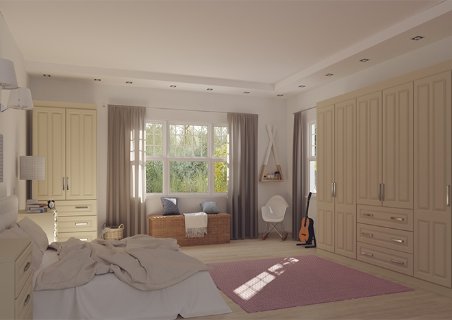 Amberley Ivory Bedroom Doors