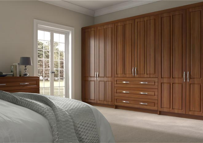 Amberley Medium Walnut Bedroom Doors