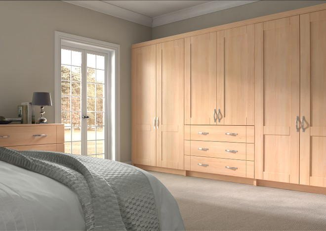 Arlington Beech Bedroom Doors