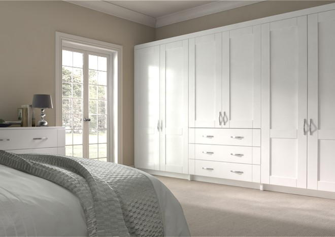 Arlington Legno White Bedroom Doors