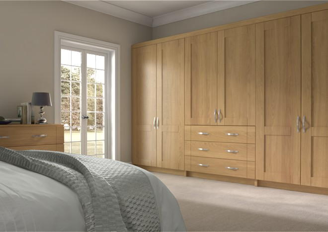 Arlington Lissa Oak Bedroom Doors