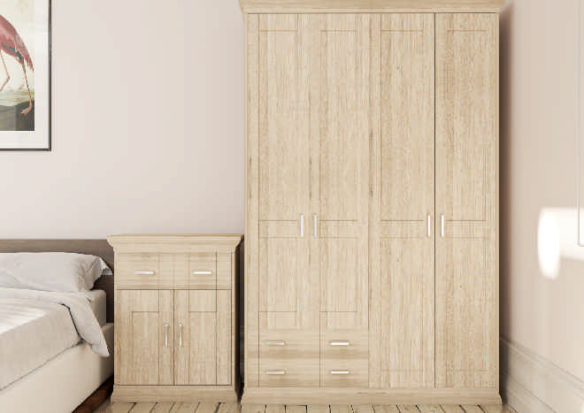 Arlington Sonoma Oak Bedroom Doors