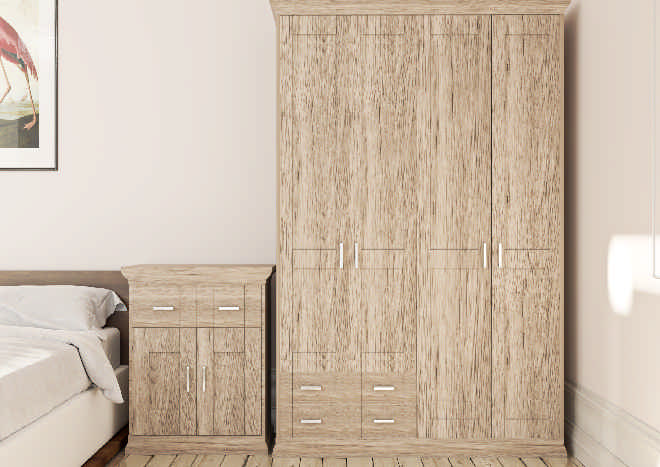 Arlington Terra Bedroom Doors