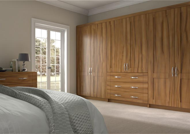 Arlington Tiepolo Light Walnut Bedroom Doors