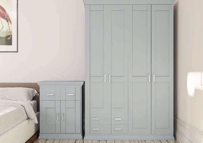 Arlington TrueMatt Denim Bedroom Doors