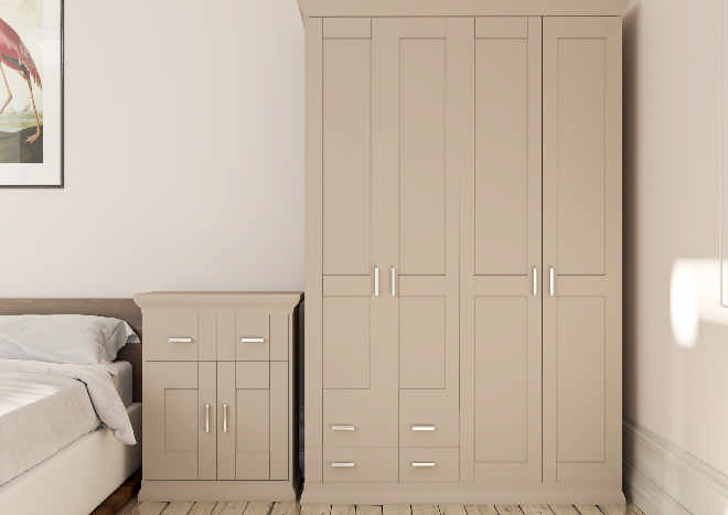 Arlington TrueMatt Stone Grey Bedroom Doors