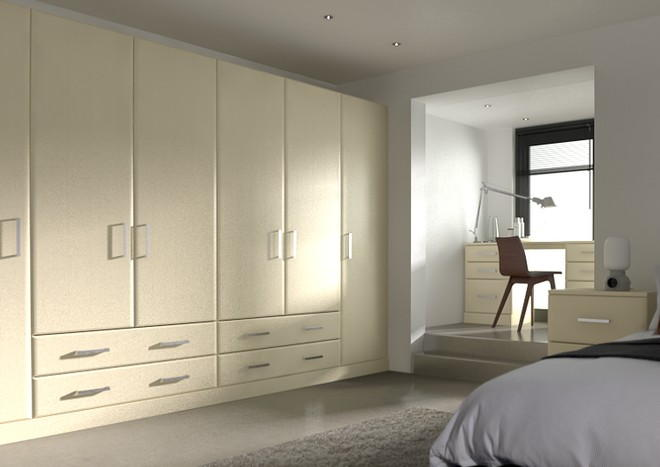 Brighton Cream Ash Bedroom Doors