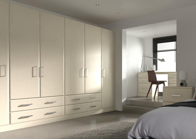 Brighton Legno Mussel Bedroom Doors