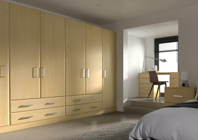 Brighton Montana Oak Bedroom Doors