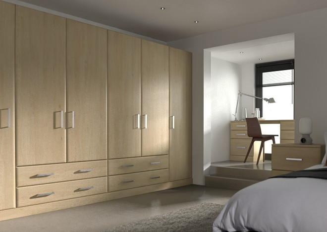 Brighton Odessa Oak Bedroom Doors