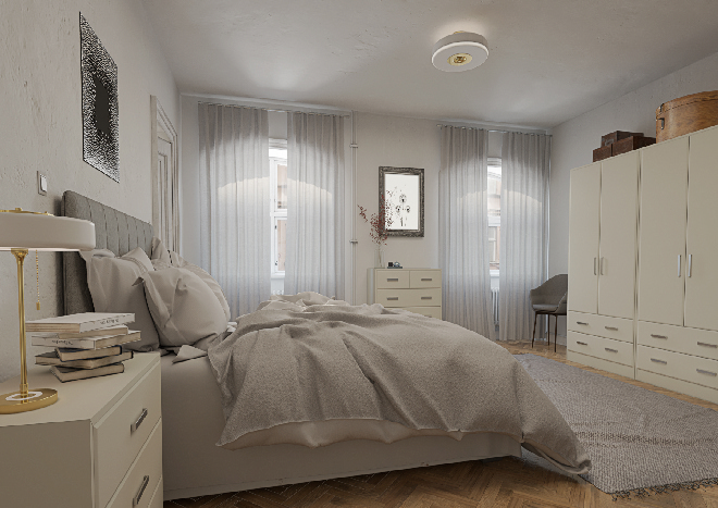 Brighton TrueMatt Dakar Bedroom Doors