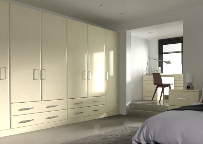 Brighton Vanilla Bedroom Doors