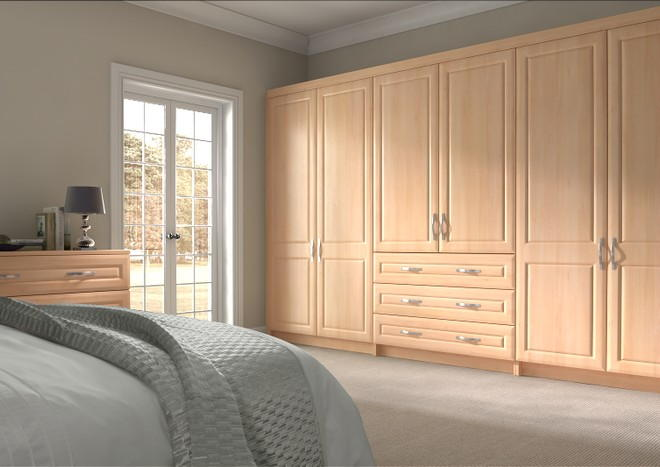 Chichester Beech Bedroom Doors