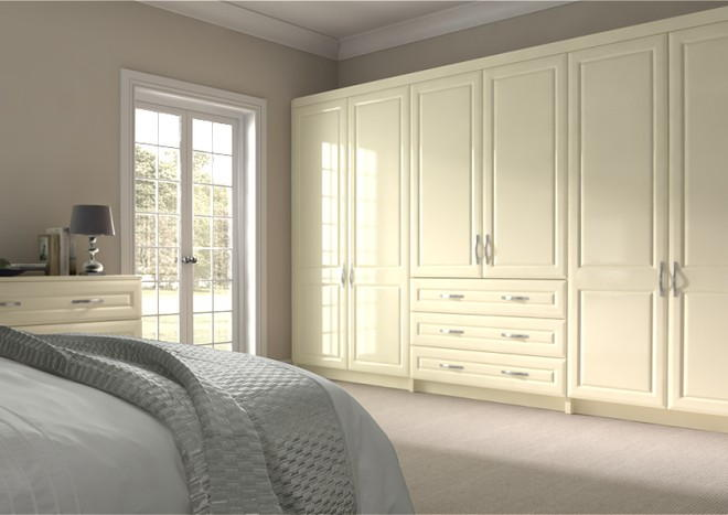 Chichester Modern Ivory Bedroom Doors