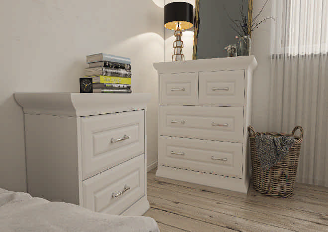 Chichester Porcelain White Bedroom Doors