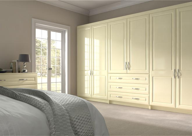 Chichester Vanilla Bedroom Doors